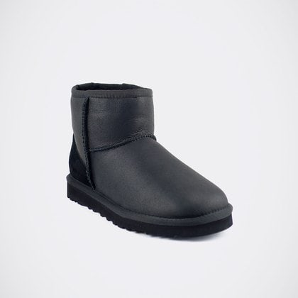 Угги UGG Mens Classic Mini Metallic Black