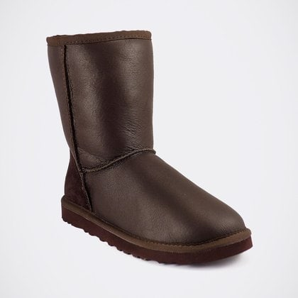 Угги UGG Mens Classic Short Metallic Chocolate