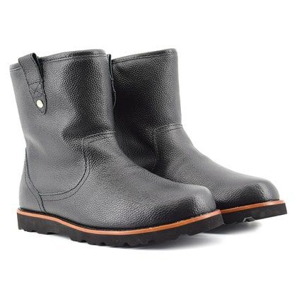 Угги UGG Mens Stoneman Leather Black