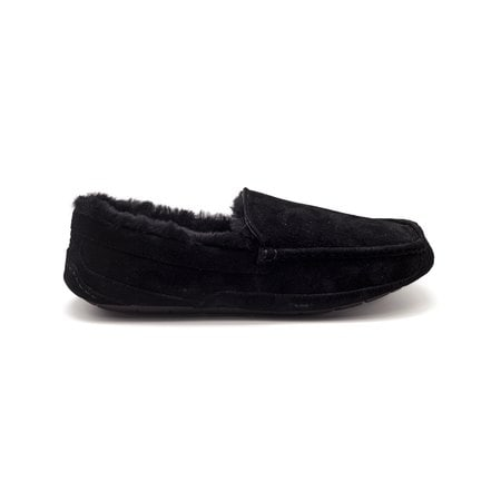 Мокасины UGG Mens Ascot Black Fur