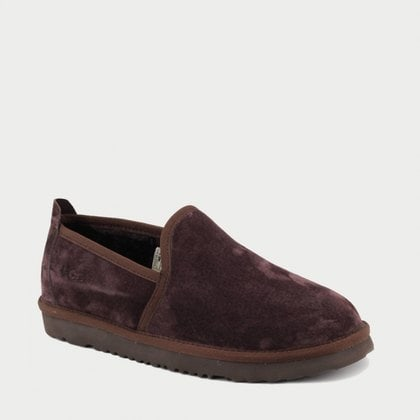 Слипоны UGG Mens Newman Chocolate