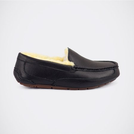 Мокасины UGG Mens Ascot Leather Black