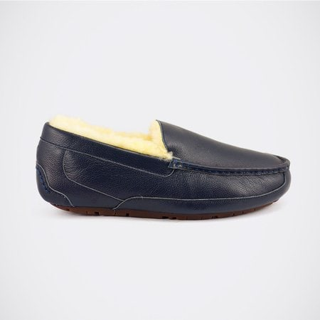 Мокасины UGG Mens Ascot Leather Navy