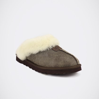 Тапочки UGG Mens Coquette Slipper Bomber Chocolate