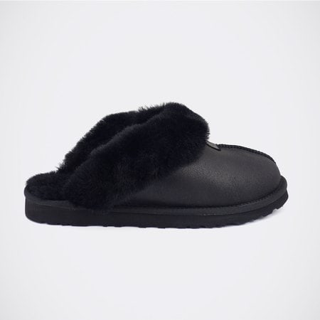 Тапочки UGG Mens Coquette Slipper Metallic Black