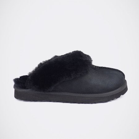 Тапочки UGG Mens Coquette Slipper Black