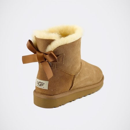 Угги UGG Mini Bailey Bow Chestnut