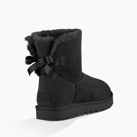 Угги UGG Mini Bailey Bow II Black