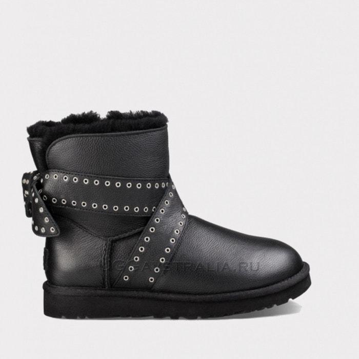 Женские полусапожки UGG Cameron Leather Black