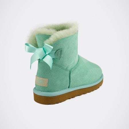 Угги UGG Mini Bailey Bow Aqua
