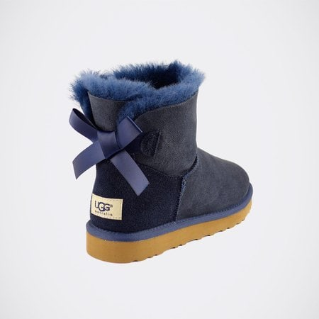 Угги UGG Mini Bailey Bow Navy