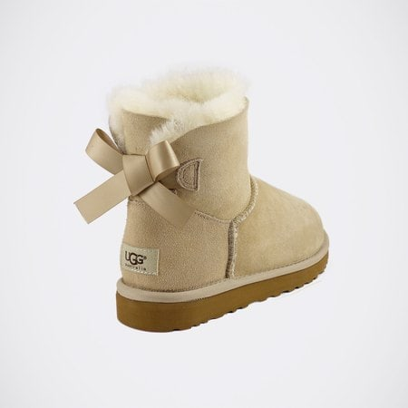 Угги UGG Mini Bailey Bow Sand