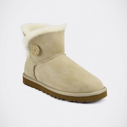 Угги UGG Mini Bailey Button Sand
