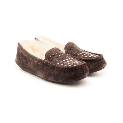 Мокасины UGG Ansley Pearls Chocolate