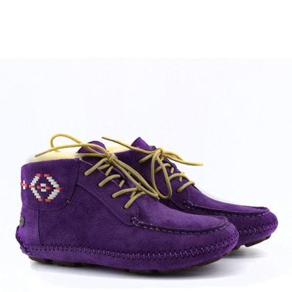 Мокасины UGG Chaunce Rustic Weave Purple