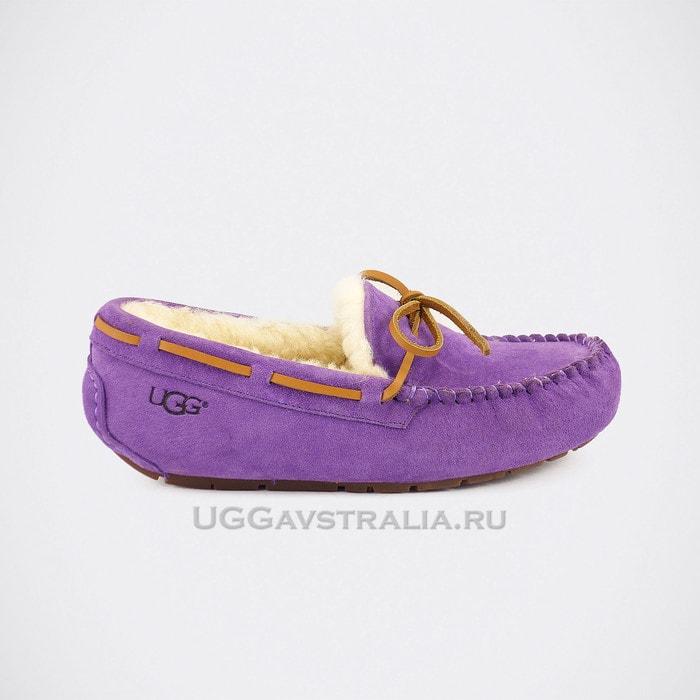 Женские мокасины UGG Dakota Purple