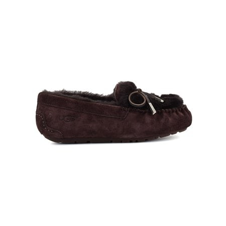 Мокасины UGG Ansley Fur Ornate Chocolate