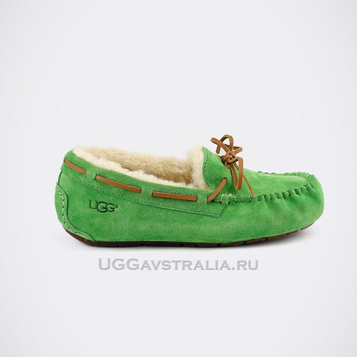 Женские мокасины UGG Dakota Green