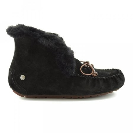 Мокасины UGG Alena Black Fur