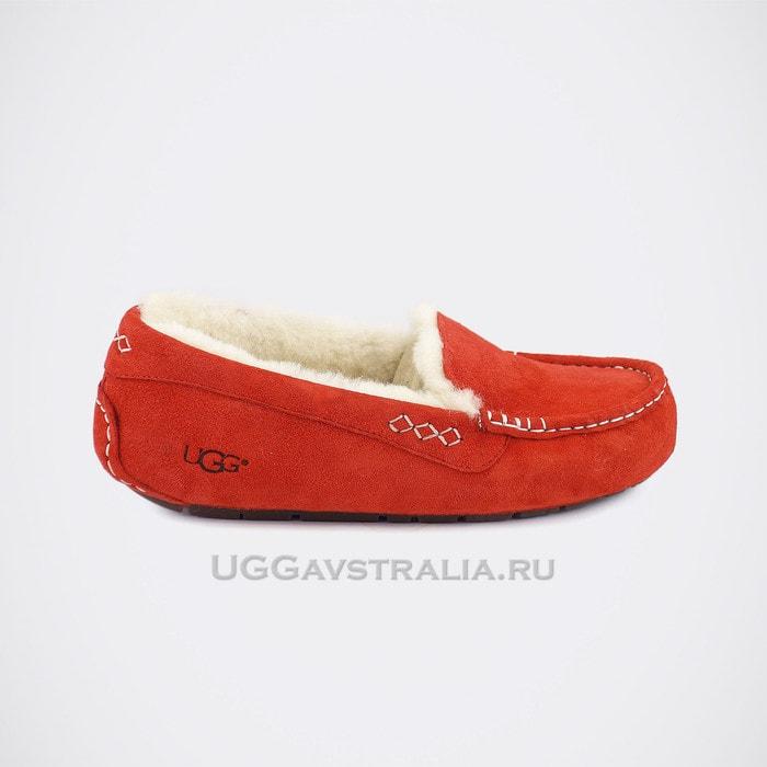 Женские мокасины UGG Ansley Red