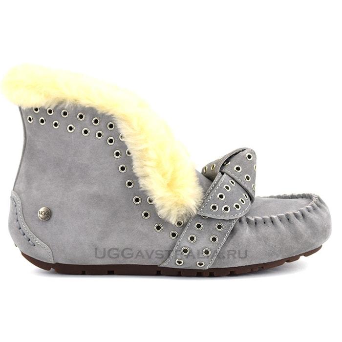 Женские мокасины UGG Poler Grey