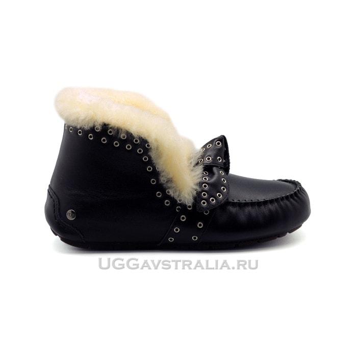 Мокасины UGG Poler Leather Black