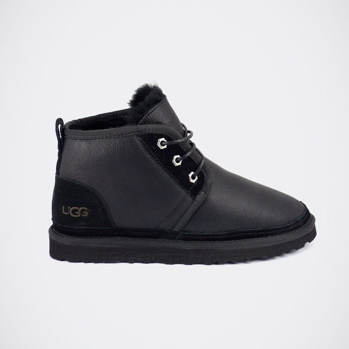 Мужские ботинки UGG Mens Neumel Boots Metallic Black