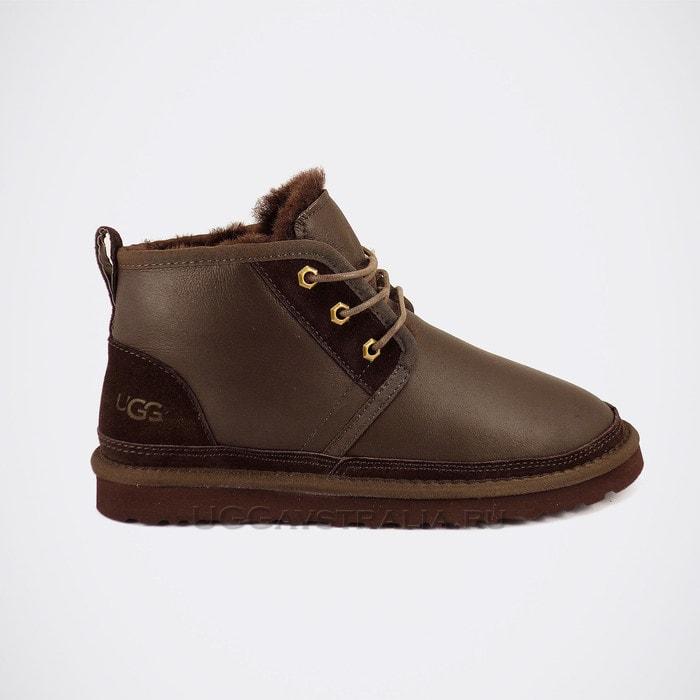 Мужские ботинки UGG Mens Neumel Boots Metallic Chocolate