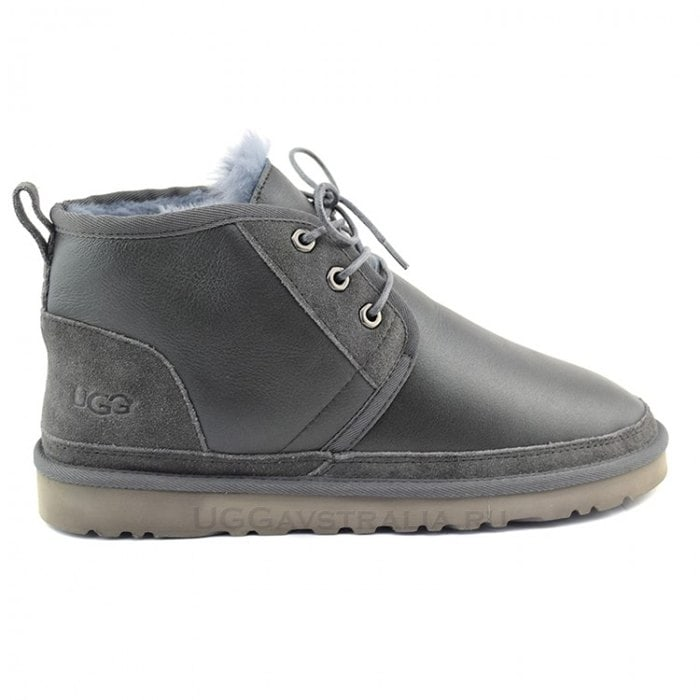 Мужские ботинки UGG Mens Neumel Metallic Grey