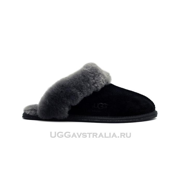 Женские тапочки UGG Scuffette II Black