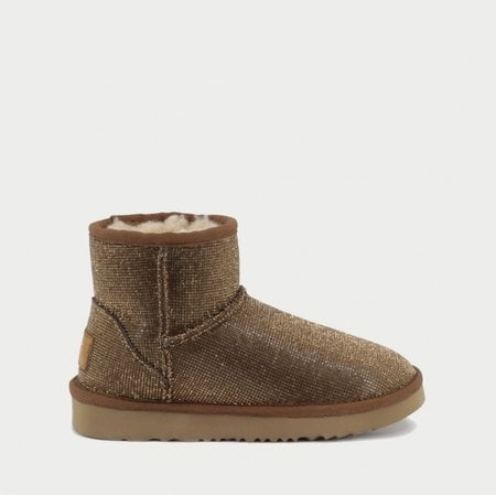Угги UGG Jimmy Choo Mini Serein II Gold