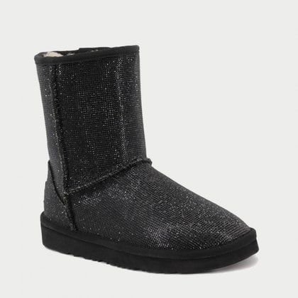 Угги UGG Jimmy Choo Short Serein II Black