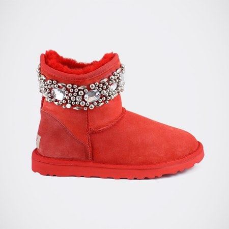 Угги UGG Jimmy Choo Crystals Red