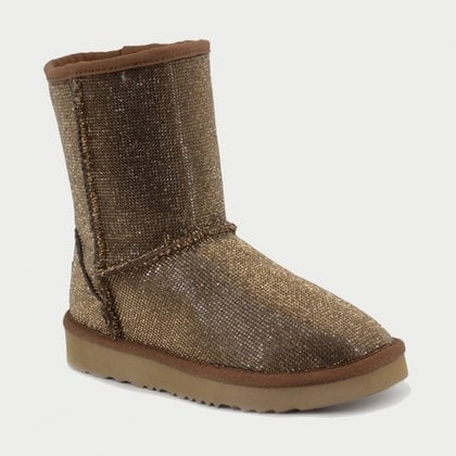 Угги UGG Jimmy Choo Short Serein II Gold