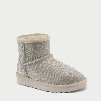 Угги UGG Jimmy Choo Mini Serein II Silver