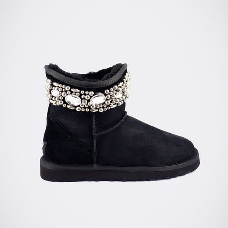 Угги UGG Jimmy Choo Crystals Black