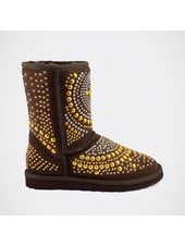 Угги UGG Jimmy Choo Mandah Chocolate