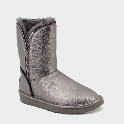 Полуботинки UGG Jimmy Choo Florence Leather Grey