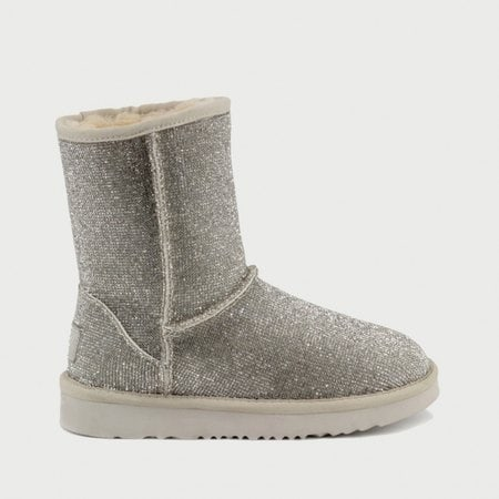 Угги UGG Jimmy Choo Short Serein II Silver