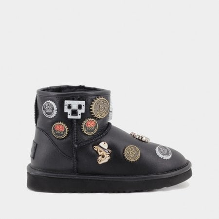 Угги UGG Jimmy Choo Mini Coco Black