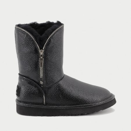 Полуботинки UGG Jimmy Choo Florence Leather Black