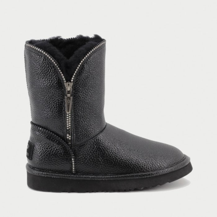 Женские полусапожки UGG Jimmy Choo Florence Leather Black