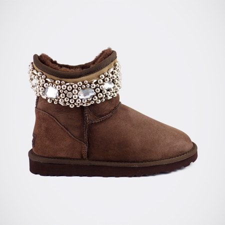 Угги UGG Jimmy Choo Crystals Chocolate