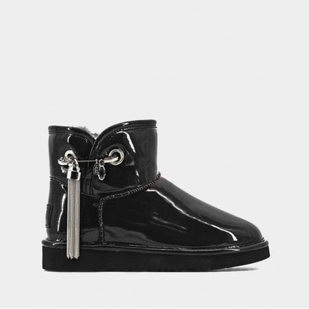Угги UGG Jimmy Choo Mini LC Black