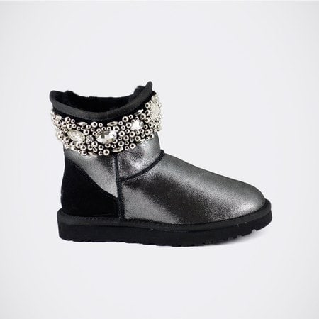 Угги UGG Jimmy Choo Crystals Glitter Black