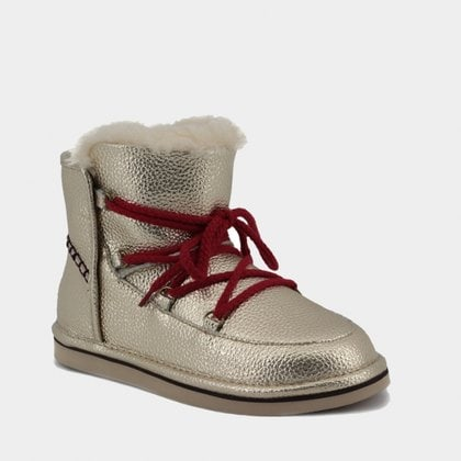 Полуботинки UGG Jimmy Choo Lodge Leather Gold
