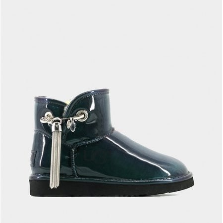 Угги UGG Jimmy Choo Mini LC Green