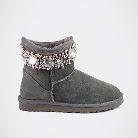 Угги UGG Jimmy Choo Crystals Grey