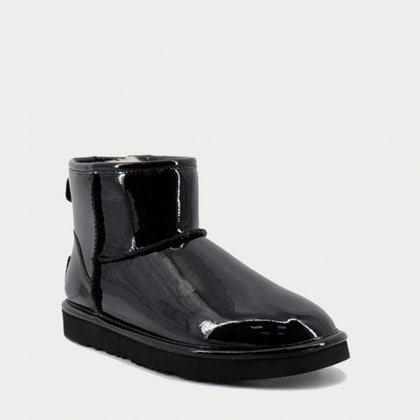 Угги UGG Jimmy Choo Mini Patent II Black