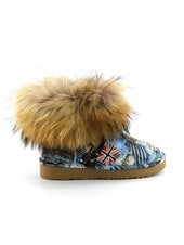 Угги UGG Jimmy Choo Mini Travel Fox Blue